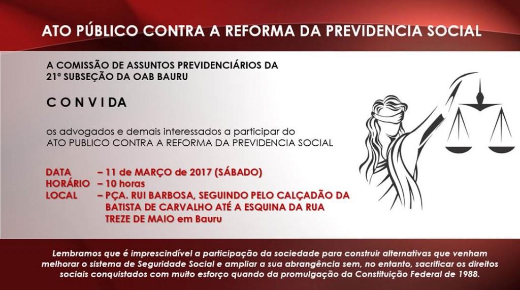 Ato Previdencia OAB